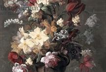 Georgian floral arrangements