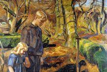 """Christian Friedrich """"Fritz"""" Wilhelm Heinrich Syberg - Dansh Artist"""