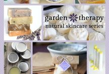 make your own skincare from  the garden