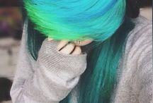 emo hair syles/ colours