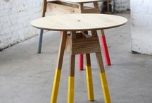 four legged friends / tables and chairs
