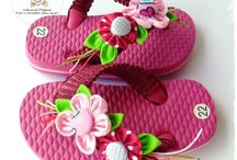Sandal/Sepatu Hias