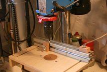 Wiertarka stołowa DIY