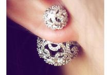 Earrings doubleside / Beautifully