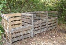 garden compost storage