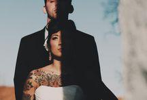tetovált esküvő