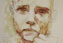 Gestural drawing