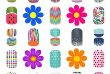 Jamberry Juniors / Nail wraps for ages newborn to 11 years old / by Wrapped Around Your Fingers