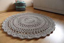 Dywany szydełko