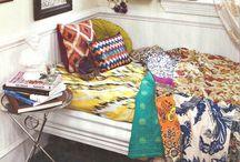 boho bedrooms & elements