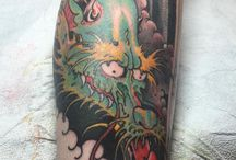 Japanese Tattoos / Most tattoos here are *NOT* by us, but are done by other awesome tattooers!