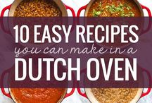Dutch Oven Recipe / Recipes