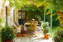 French courtyards