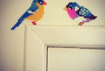 Vögel / Vorlage BP Vögel