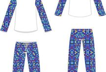 molde pijama feminina