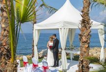 Cyprus Weddings / Cyprus is one of the most popular destinations for weddings abroad. Tranquil seas, golden sands and clear blue skies provide the perfect backdrop for your special day.