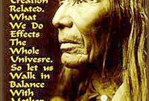 Native Indian wisdom