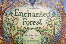 Enchanted forest and Stag.