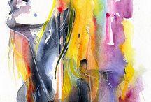 Fine Art / Karya Seni Murni berupa lukisan dan lain-lain, dengan bentuk digital maupun material