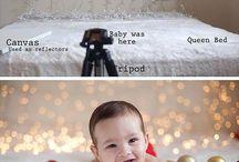Poses para fotografia de bebe