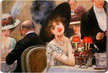 HENRY GERVEX - French painter 1852-1929 / French Impressionist art