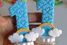 Cookies Letras y números