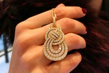 Diamond Pendent Single Loop