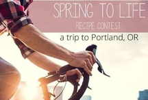 Spring to Life Contest / Check last year's winning recipes from 2012's Spring to Life recipe contest! / by Earth Balance