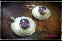 handmade silver and copper jewelry