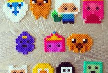 Hama beads / by Shelly Mantovani