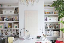 Drapery workroom / by Shannon Billeaud