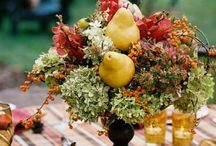 Fall Wedding Color Palettes 2014