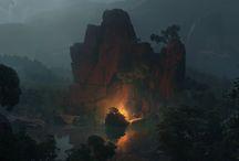 paisajes y escenas