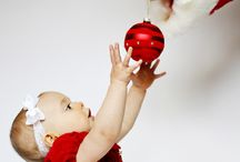 christmas toddler photography