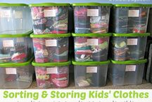 Organizing / Organization strategies and tips for home, play room, kitchen, recipes, toys--you name it.