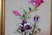 Bunga Hiasan dinding