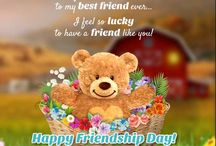 The best 25 Friendship Day Ecards - Our pick! / Confused about what to send your friends on #FriendshipDay?  Have a look at our top 25 cards, beautifully woven to celebrate the bond we share with our friends. Happy Sharing! #HappyFriendshipDay #Bestfriendsforever #FriendsForever #Bffs #Bestfriends