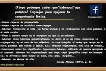 A vueltas con E/LE / Cosillas de mi blog E/LE.  www.avueltasconele.com