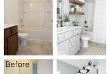 bath room remodel on a dime