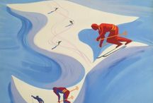Affiche Passion - Ski vintage original posters / Vintage original ski poster Affiche ancienne originale de ski Original alte ski plakat Original esqui cartel Sci manifesto originale