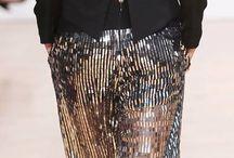 Pants  metallic