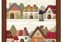 patchwork sin agujas
