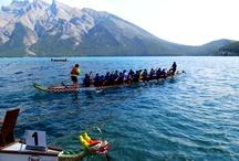 Banff National Park, Dragon Boat Race, Lake Minnewanka