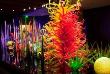 Chihuly Love / Dale Chihuly has become an internationally celebrated personality in contemporary art & design whose prominence in the field of contemporary studio glass is unmatched.  / by Cheryl Stone