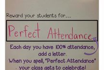 Attendance / by Jennifer McGrew
