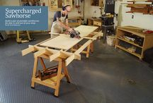Workshop Projects / These projects will help you build your dream workshop! From organization to benches. Check out these projects to optimize your work space.