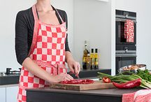 Keuken / Verwen jezelf met bijzonder keukentextiel van de beste kwaliteit. Zo zijn deze keuken producten duurzaam, kleur- en vormvast.