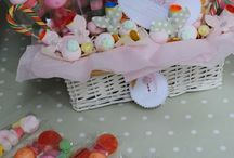 Canasta para mesa de dulces