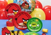 Angry Birds Birthday Party Ideas / A collection of Angry Birds birthday party ideas. kids love the angry birds.