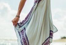 Robes foulards